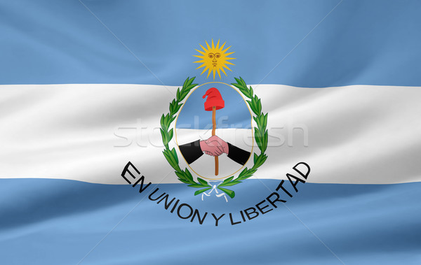 Zászló San Juan Argentína vidék ruha textil Stock fotó © joggi2002