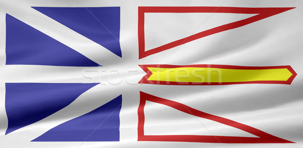 Flag  of Newfoundland and Labrador - Canada Stock photo © joggi2002