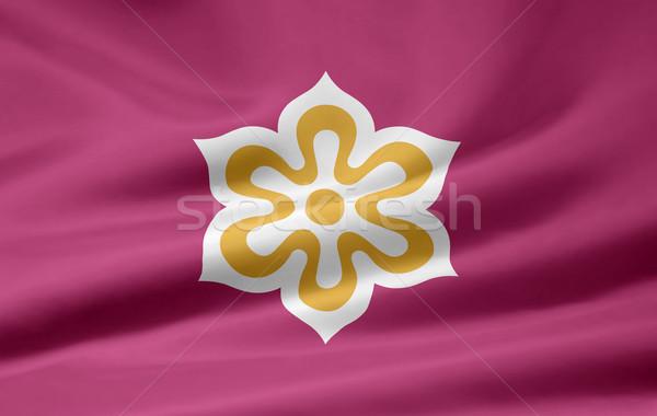Flag of Kyoto - Japan Stock photo © joggi2002
