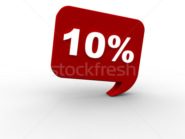 Eladó 10 százalék nyár háló tél Stock fotó © joggi2002