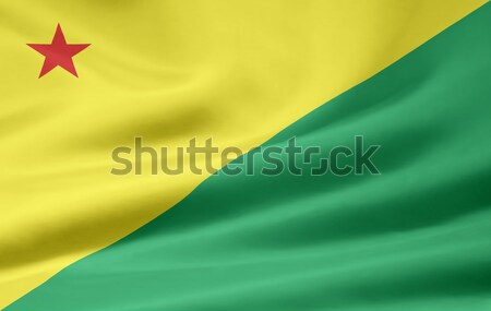 Flag of Acre - Brasil Stock photo © joggi2002