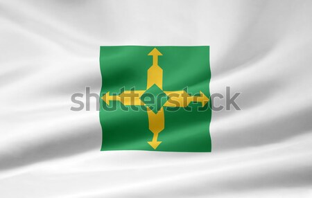 Flag of Distrito Federal - Brazil Stock photo © joggi2002