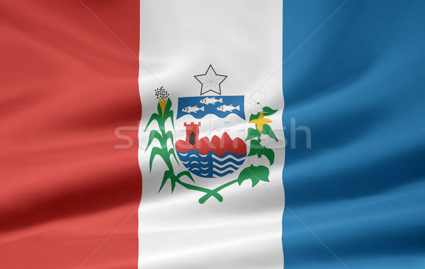Flag of Alagoas - Brasil Stock photo © joggi2002