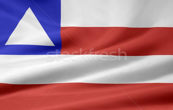 Сток-фото: флаг · Бразилия · большой · дизайна · зеленый · стране