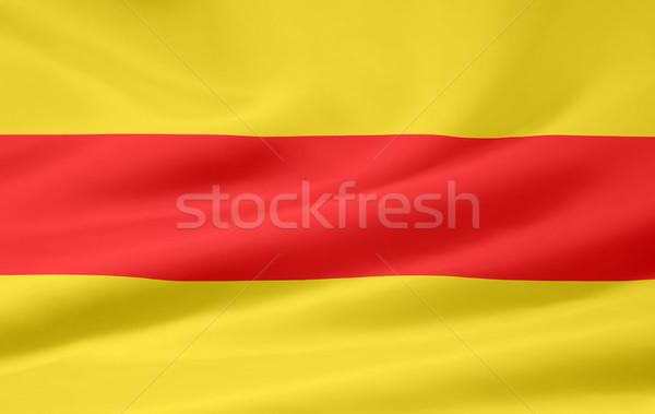 Zászló Németország ruha textil szalag illusztráció Stock fotó © joggi2002
