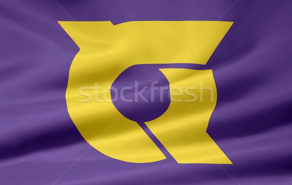 Flag of Tokushima - Japan Stock photo © joggi2002