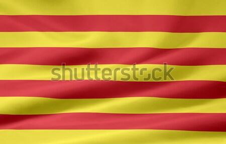 Flag of Catalonia - Spain Stock photo © joggi2002