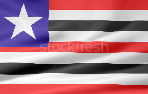 Flag of Maranhao - Brasil Stock photo © joggi2002
