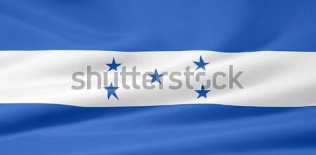 Alto bandiera Honduras design panno Foto d'archivio © joggi2002