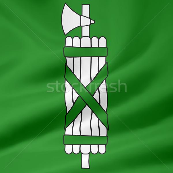 Bayrak İsviçre büyük futbol dizayn beyaz Stok fotoğraf © joggi2002