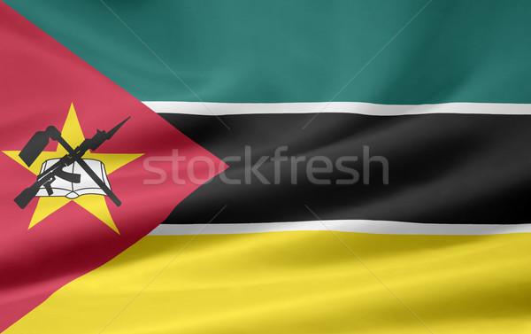 Flag of Mozambique Stock photo © joggi2002
