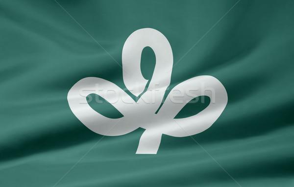 Flag of Miyagi - Japan Stock photo © joggi2002