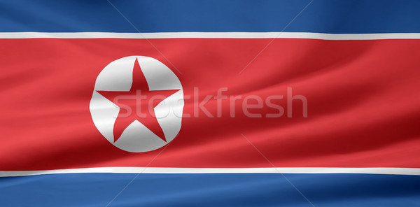 High resolution flag of North Korea Stock photo © joggi2002