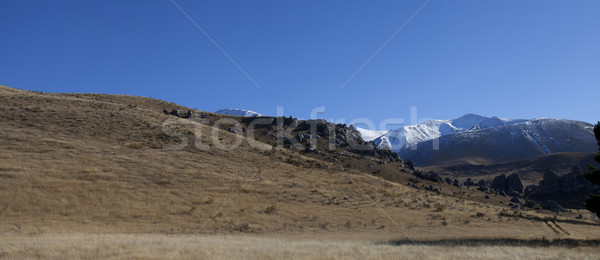 Panoramic view of Kura Tawhiti Natural historic and cultural val Stock photo © JohnKasawa