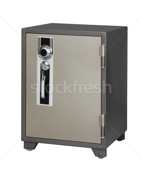 Security safe isloated on white  Stock photo © JohnKasawa