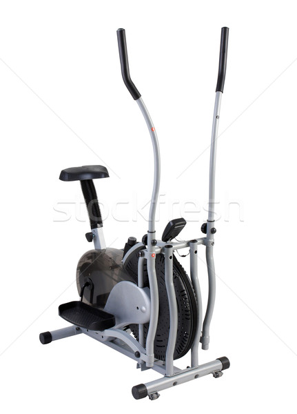 Walking and cycling excercise tool on white  Stock photo © JohnKasawa