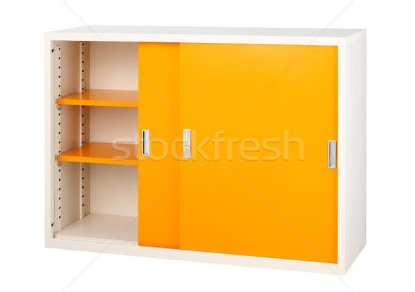 Cute kabinet nuttig alle gegevens document Stockfoto © JohnKasawa