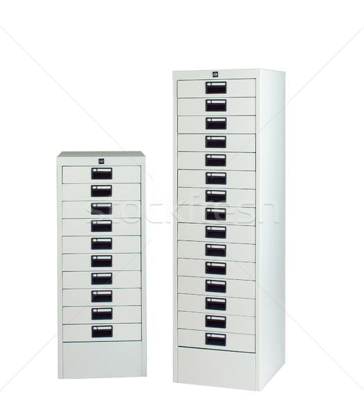 Metal locker steel furniture for general use Stock photo © JohnKasawa