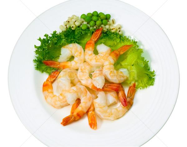 Göstermek yemek brokoli yalıtılmış beyaz gıda Stok fotoğraf © JohnKasawa