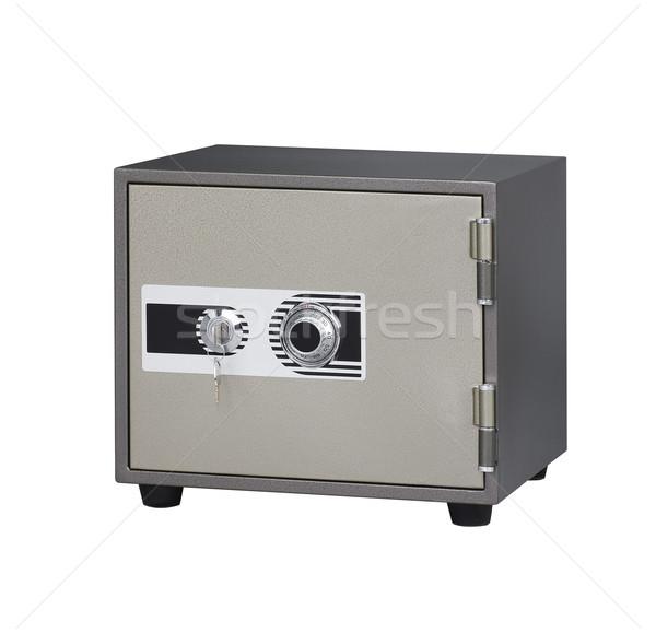 Segurança seguro importância porta metal caixa Foto stock © JohnKasawa