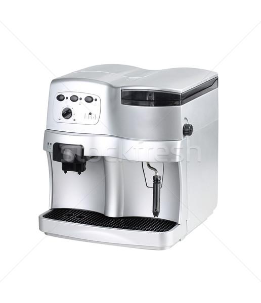 Coffee blending machine tool isolated on white Stock photo © JohnKasawa