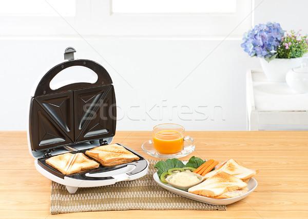 Sandwich bread maker a neccessary kitchen tool  Stock photo © JohnKasawa