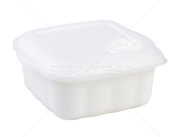 電子レンジ 器具 食品 ボックス 空っぽ 孤立した ストックフォト © JohnKasawa