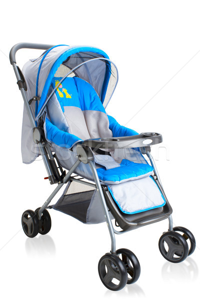 Smooth pram carriage stroller for new baby isolated  Stock photo © JohnKasawa