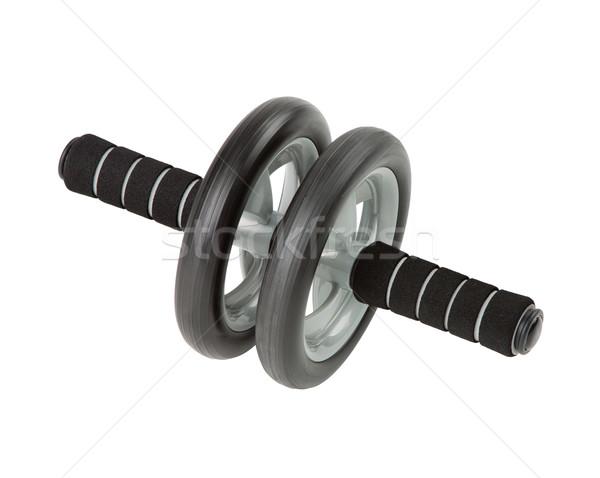 Dobrar abdominal dois exercer ferramenta braço Foto stock © JohnKasawa