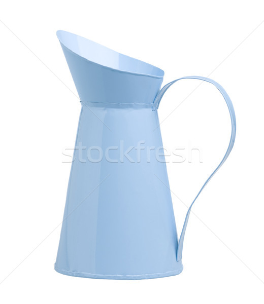 blue metal jug isolated on white  Stock photo © JohnKasawa