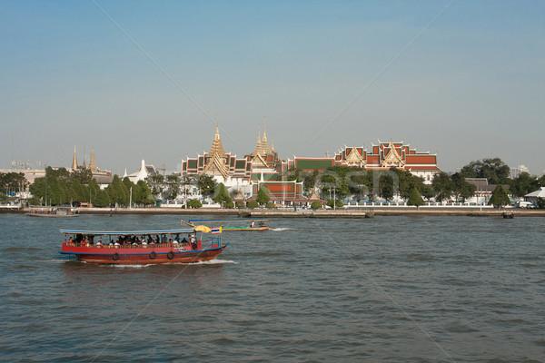 Rivier paleis Bangkok Thailand mooie stad Stockfoto © JohnKasawa