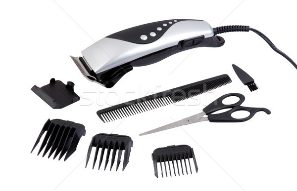 men hair clipper machine the tool for hair stylist Stock photo © JohnKasawa