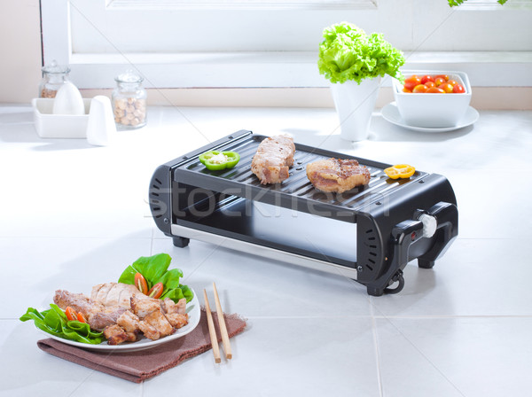 Toast roast and grill steak electric stove great for modern kitc Stock photo © JohnKasawa