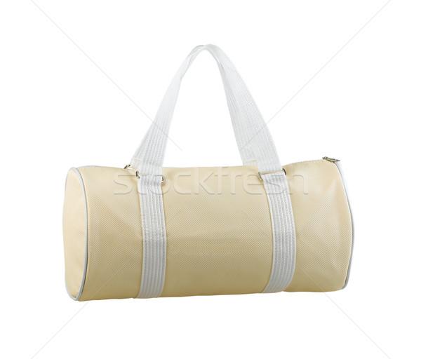 Divat táska személyes életstílus izolált fehér Stock fotó © JohnKasawa