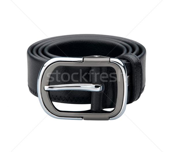 Smart man leather belt isolated on white  Stock photo © JohnKasawa