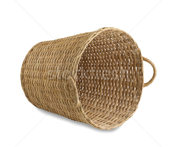 Handicraft rattan basket the old fashioned Thai style handicraft Stock photo © JohnKasawa