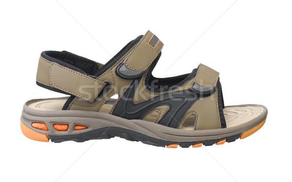 Nice and compact sandal for walking traveling hiking and leisure Stock photo © JohnKasawa