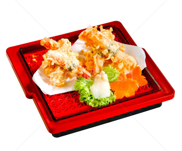 Fried Tempura a favorite dish of Japanese food  Stock photo © JohnKasawa