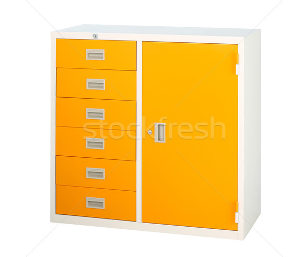 keep and storage documents and files in the beautiful steel cabi Stock photo © JohnKasawa