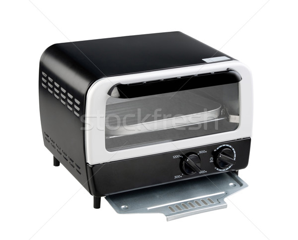 Empty toaster oven one of the necessary kitchenware Stock photo © JohnKasawa