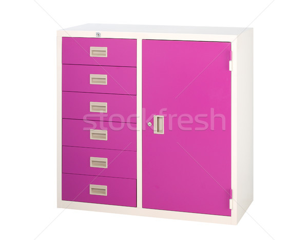Beautiful and useful cabinet to safe all your documents it's ste Stock photo © JohnKasawa