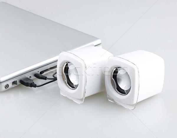 Mini speakers portable entertainment tools Stock photo © JohnKasawa