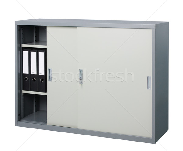 cabinet stainless steel factory furniture Stock photo © JohnKasawa