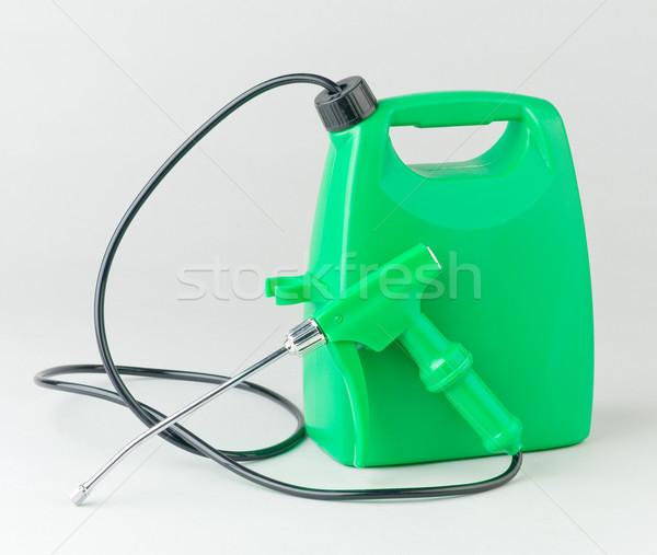 жидкость удобрение инъекций контейнера цистерна спрей Сток-фото © JohnKasawa