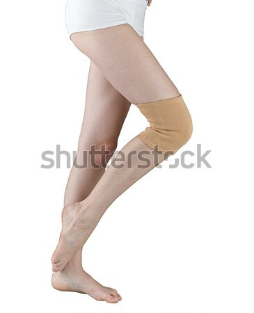 Sicherheit Knie Unterstützung medizinischen Muskel Stock foto © JohnKasawa