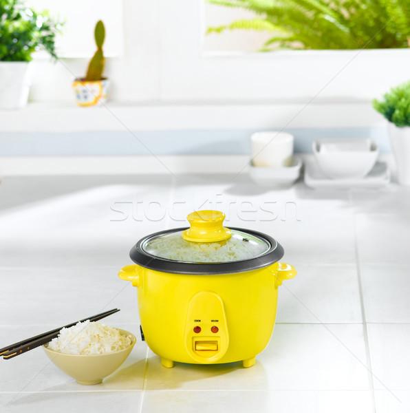 Rice cooking pot in the kitchen  Stock photo © JohnKasawa