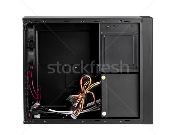 Open computer case to install your hardware and accessory Stock photo © JohnKasawa