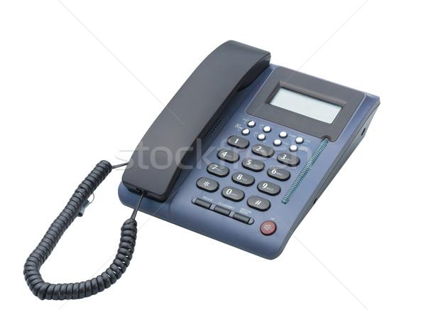 ホームオフィス 電話 デジタル 通信 ツール 電話 ストックフォト © JohnKasawa