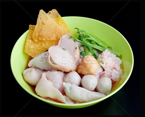 тайский стиль популярный продовольствие меню Сток-фото © JohnKasawa