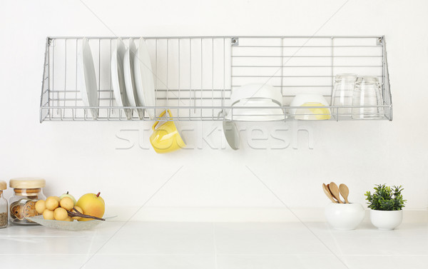 The empty space of the kitchen Stock photo © JohnKasawa
